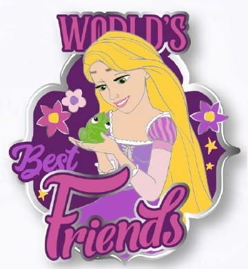 Rapunzel & Pascal