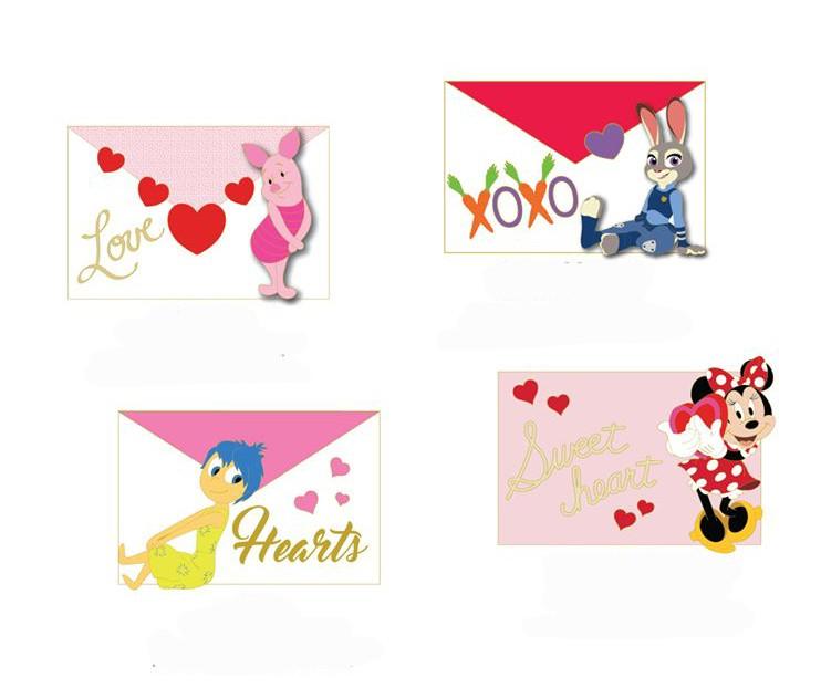 Piglet, Judy Hopps, Joy and Minnie Mouse