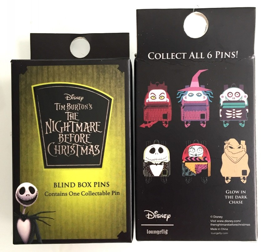 Nightmare Before Christmas Backpack Mystery
