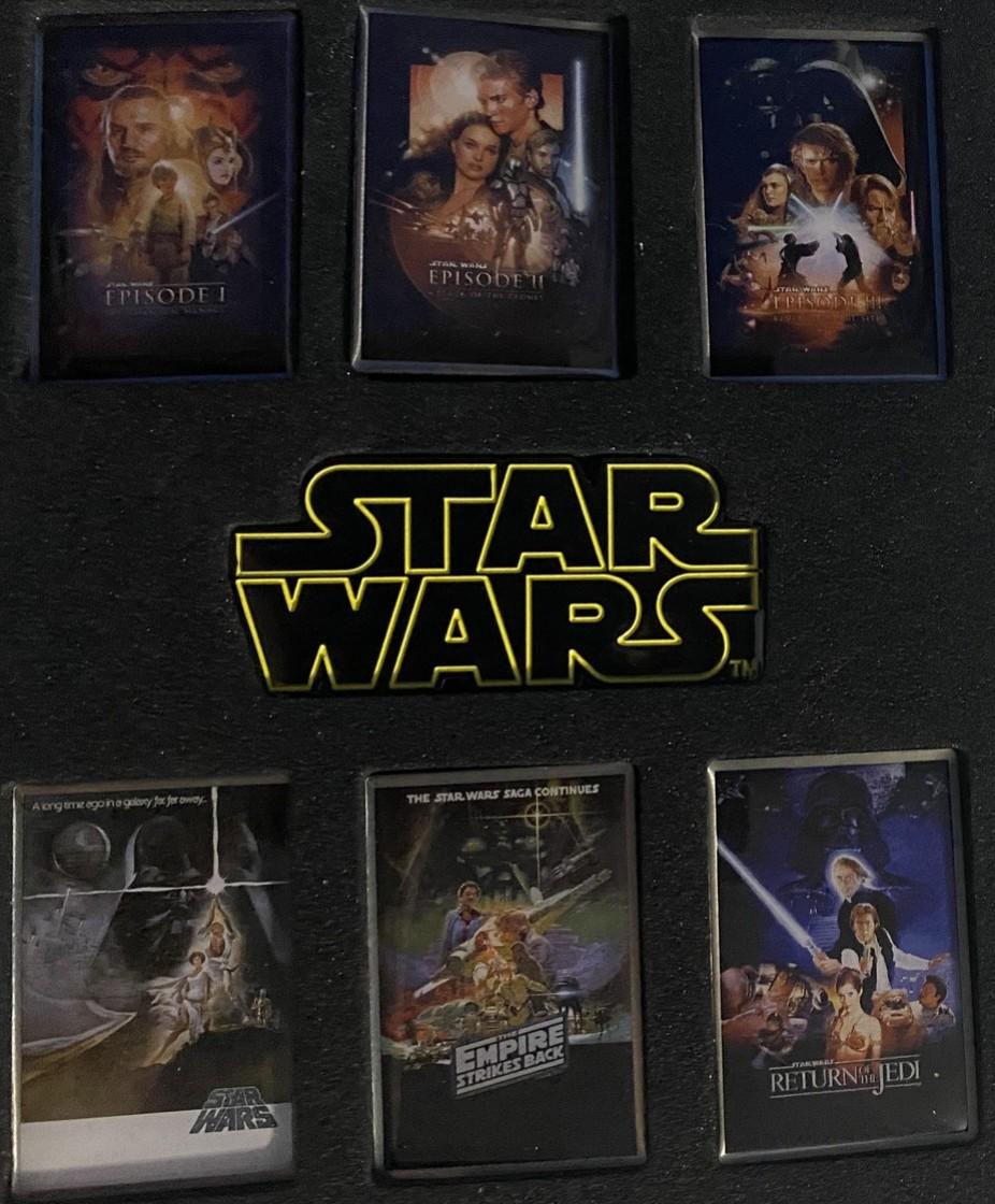 Star Wars Saga Poster Set #1