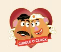 Cuddle O'Clock - Mr. & Mrs. Potato Head