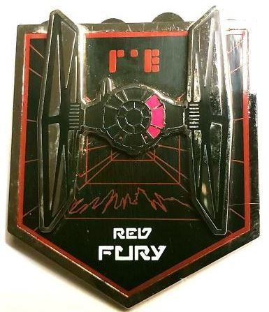 Red Fury Tie Fighter