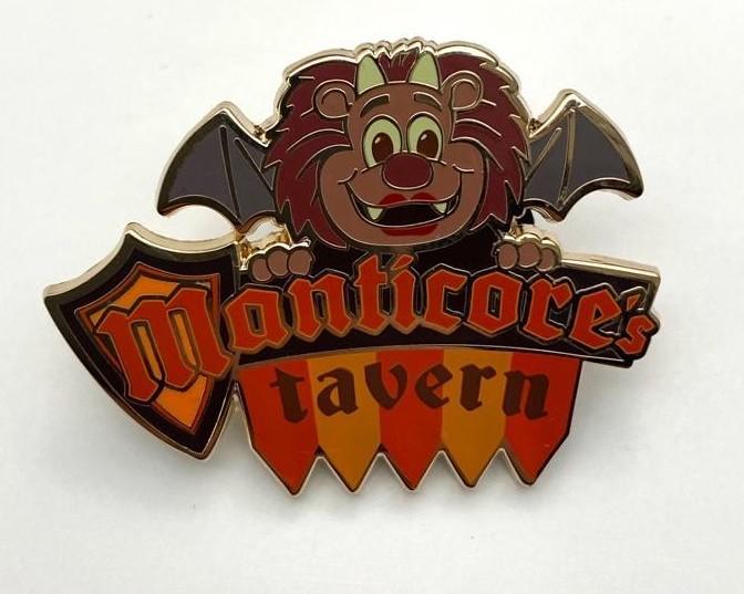 Manticore's Tavern Sign