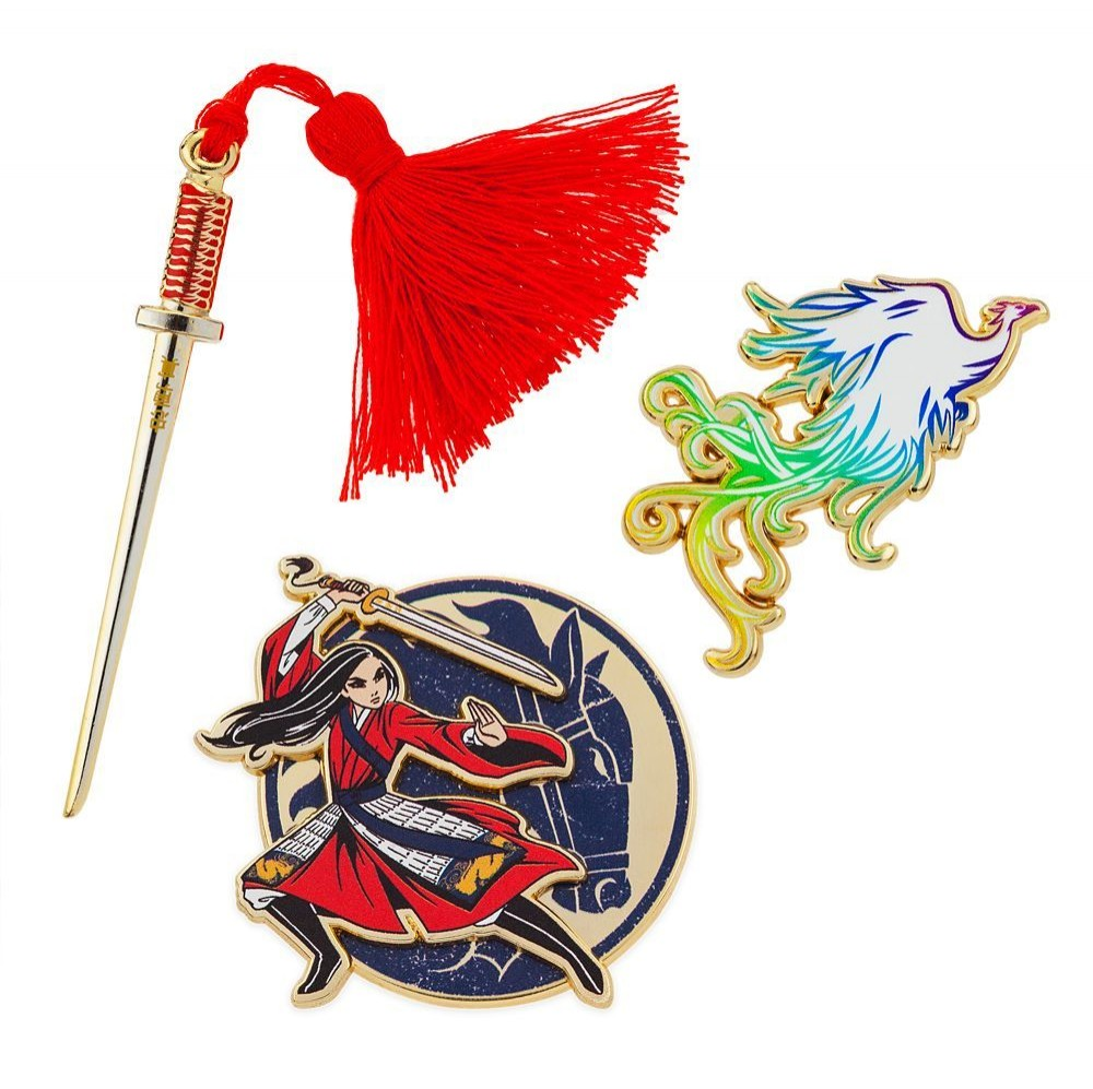 Mulan Live Action Pin Set