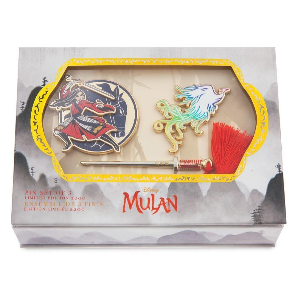 Mulan Live Action Pin Set