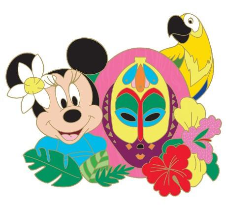 Tiki Minnie Mouse