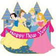 Snow White, Belle, Cinderella and Aurora