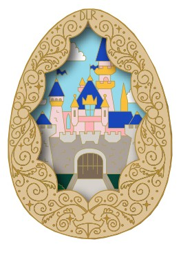 Sleeping Beauty Castle Egg