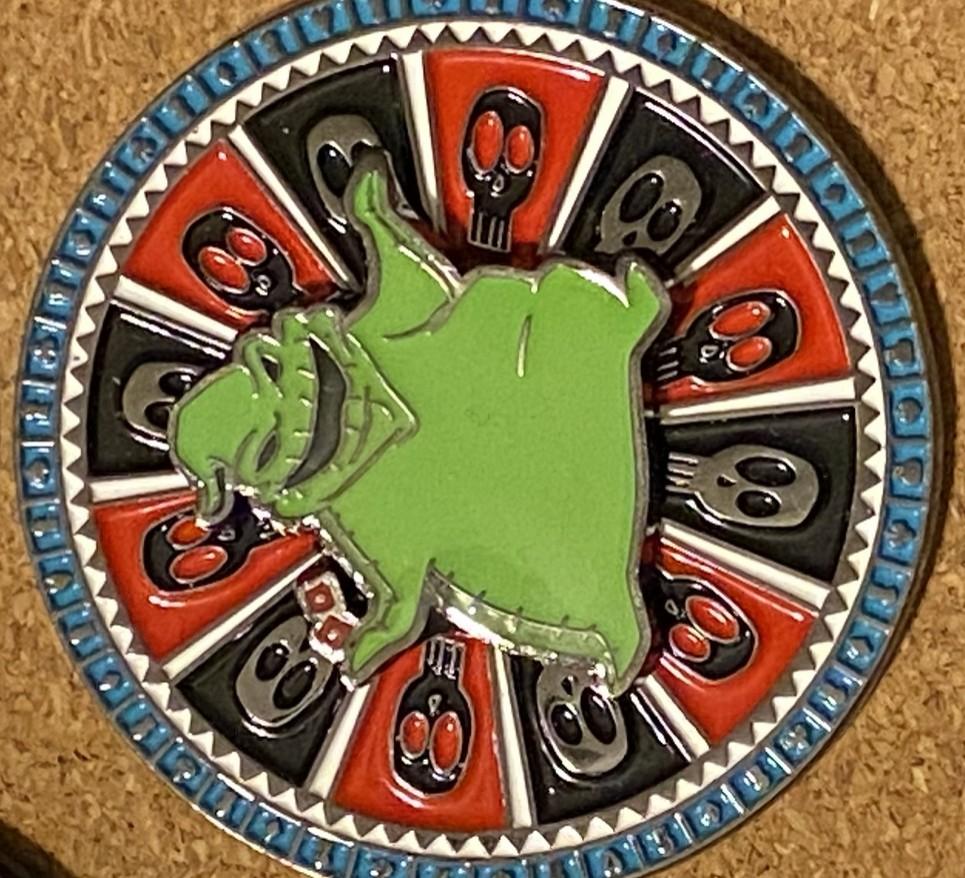 Oogie Boogie Roulette Wheel