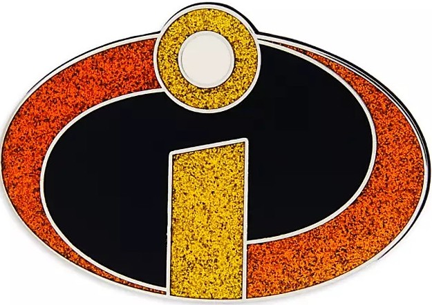Incredibles Logo Pin