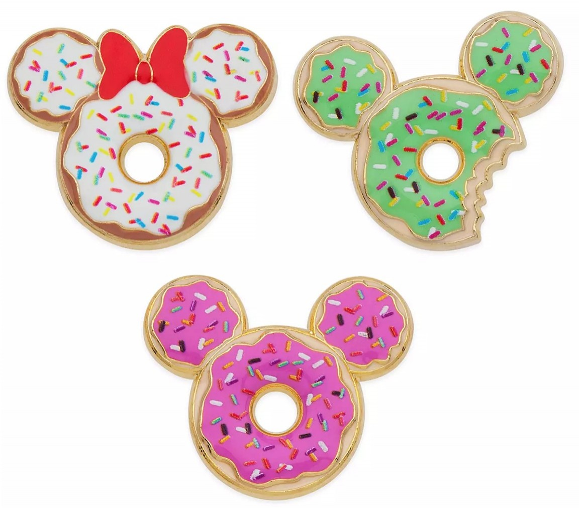 Mickey and Minnie Mouse Donuts