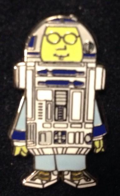 Dr. Bunsen Honeydew as R2-D2