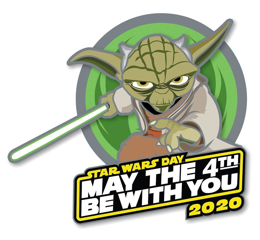 Star Wars May the 4th Be With You Yoda Pin