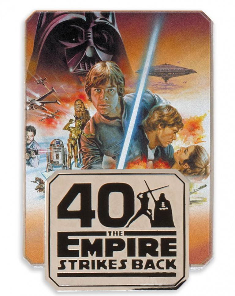 Star Wars: The Empire Strikes Back 40th Anniversary Pin