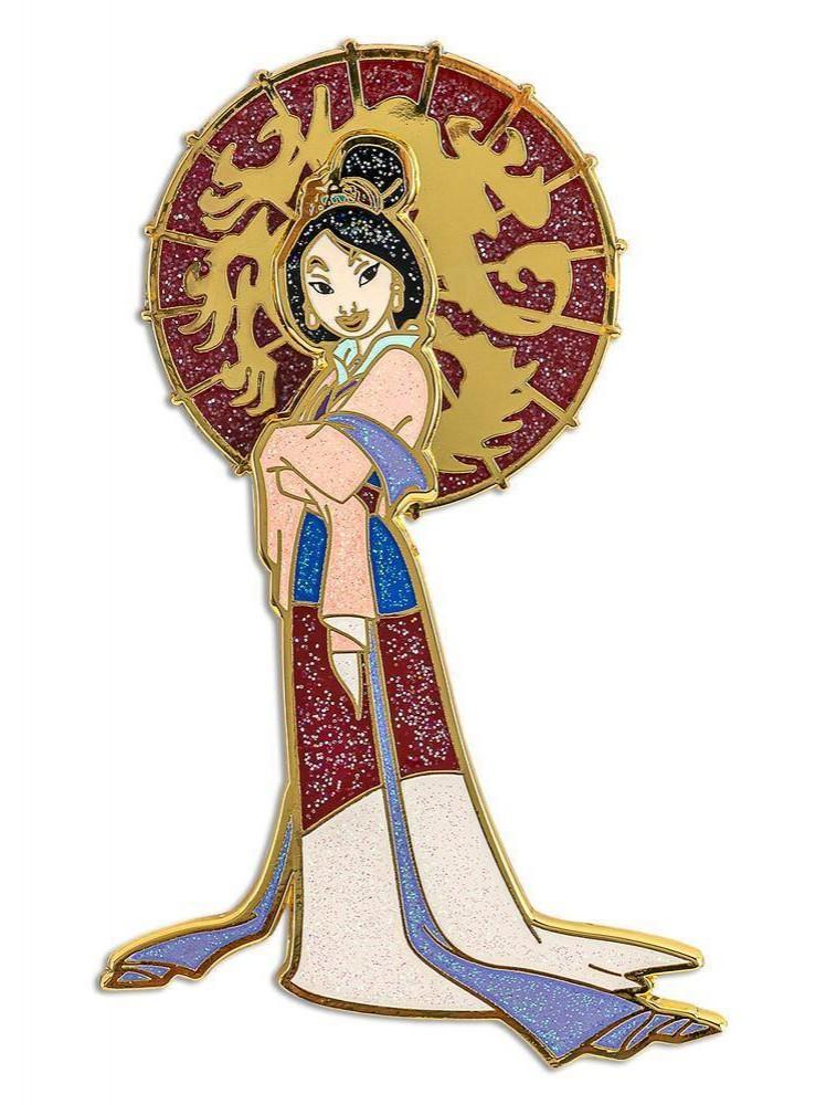Mulan with Umbrella