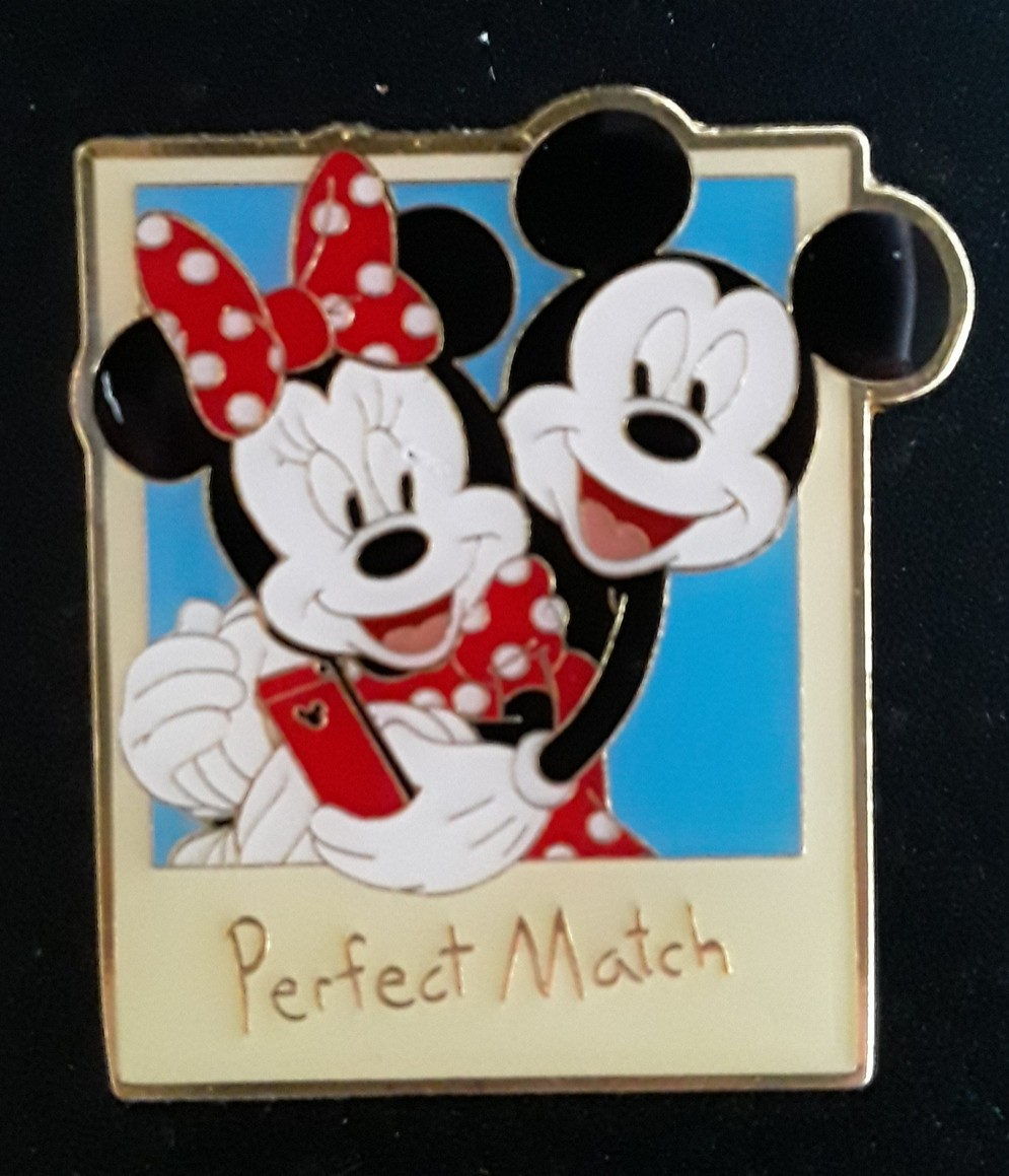 Mickey & Minnie Perfect Match Polaroid
