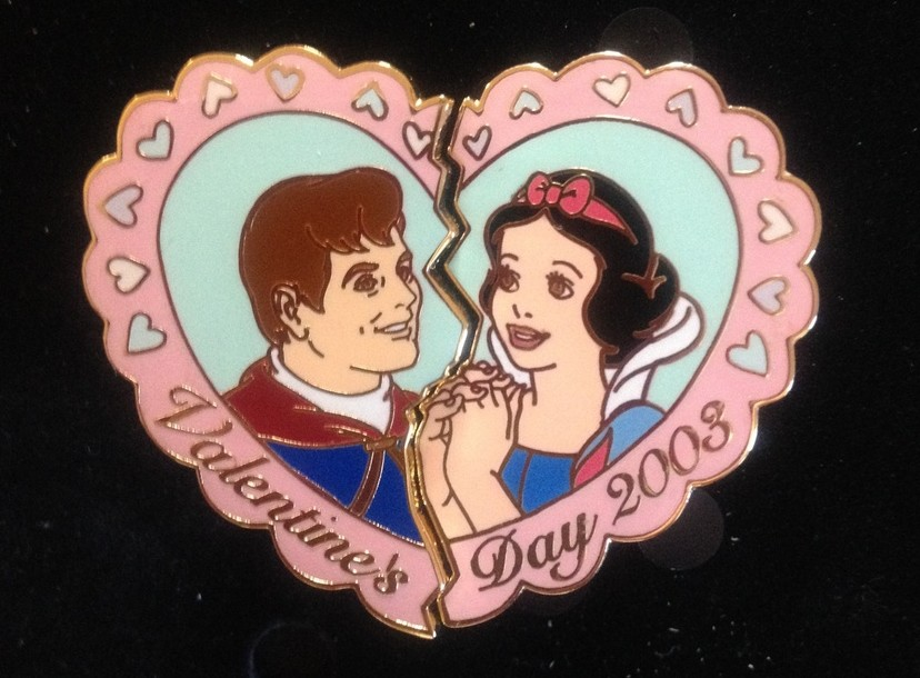 Valentine's Day 2003 Pin Set #2 (Snow White & The Prince)