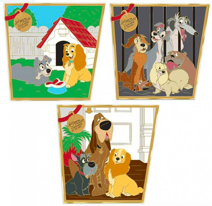 Disney Parks Film Anniversary Collection - Lady and the Tramp 65th Anniversary Set
