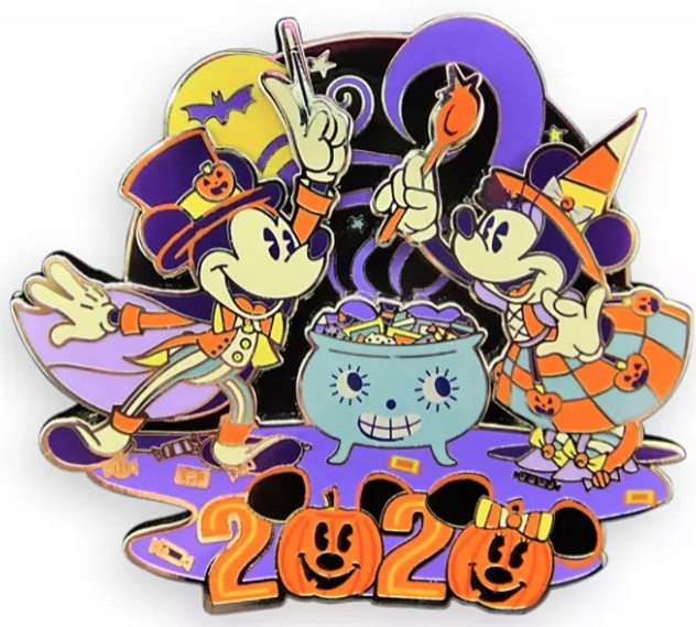 DS - Halloween 2020 - Mickey and Minnie Mouse Tricks and Treats