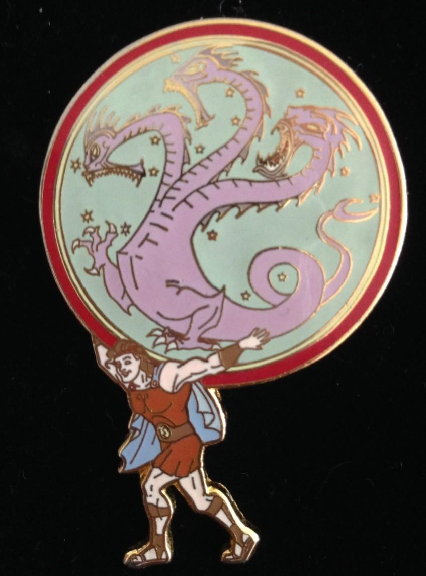 Hercules Carrying Hydra