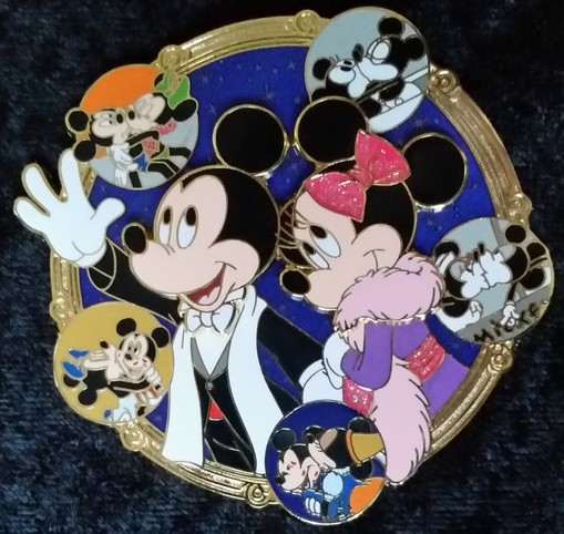 Mickey and Minnie Through the Years