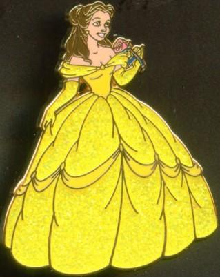Belle Glitter Paris Pin