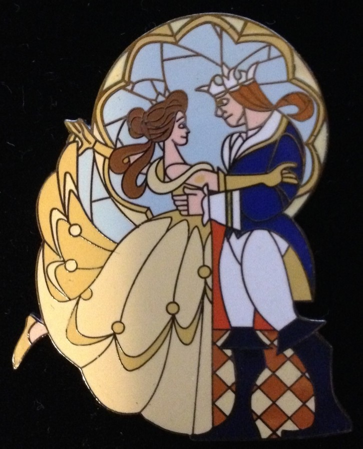 Belle and the Beast Dancing Couple