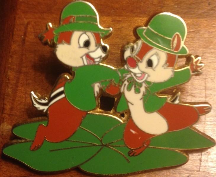 Chip & Dale Celebrating St. Patrick's Day
