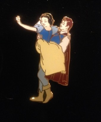 4 Pin Boxed Set - Snow White & Prince Only