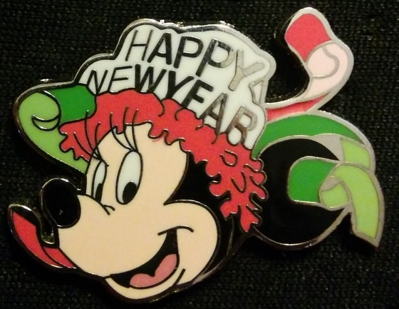 Happy New Year Minnie Mouse