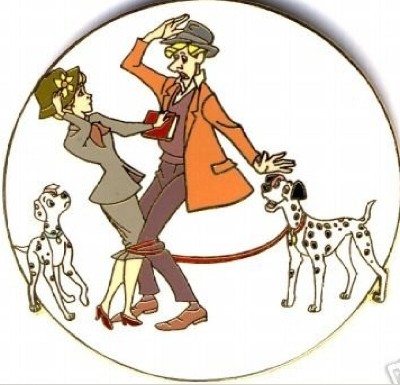Roger, Anita, Pongo and Perdita