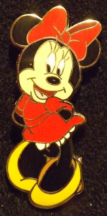 Coy Minnie Mouse