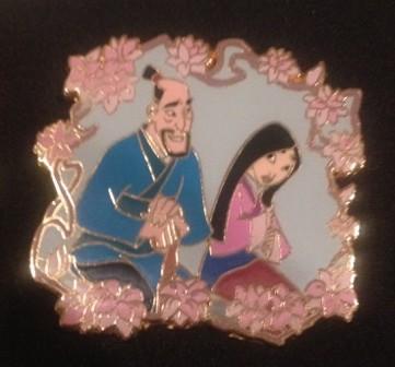 Mulan & Fa Zhou with Blossoms
