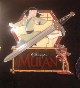 Mulan & Mushu Dragon
