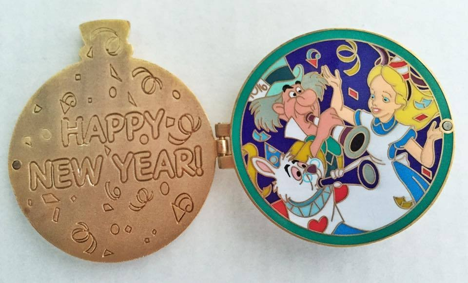Alice in Wonderland New Year's Pocket Watch
